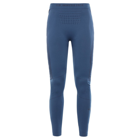 Pantaloni First Layer Alergare Femei The North Face Sport Tights Blue Wing/Black