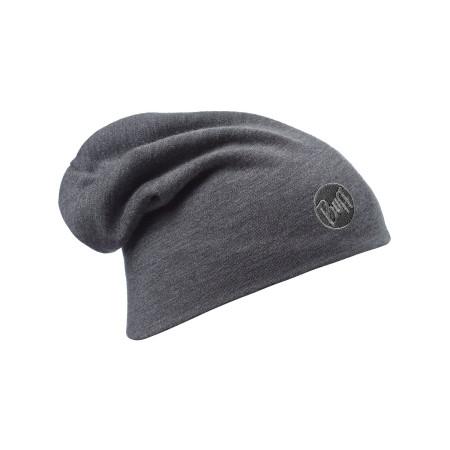 Caciula Buff Merino Wool Thermal Solid Grey