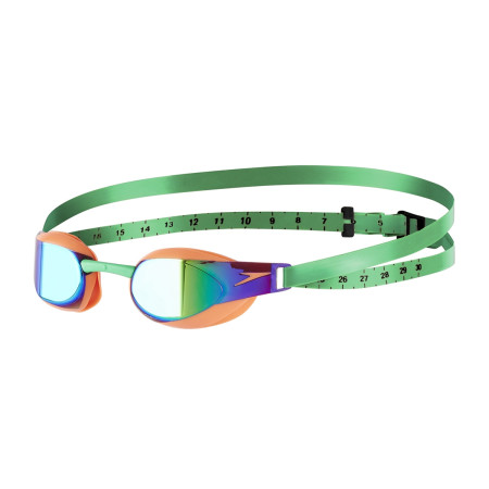 Ochelari inot Unisex Speedo Fastskin Elite Mirror Potocaliu / Verde