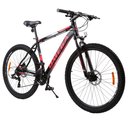 "Bicicleta Mountainbike Omega Thomas 29"" Negru / Rosu"