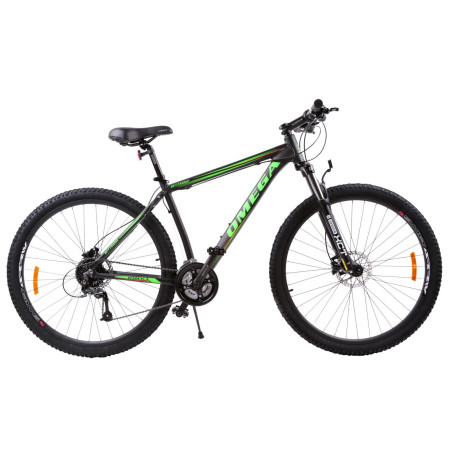 "Bicicleta Mountainbike Omega Bettridge 29"" Negru / Verde"