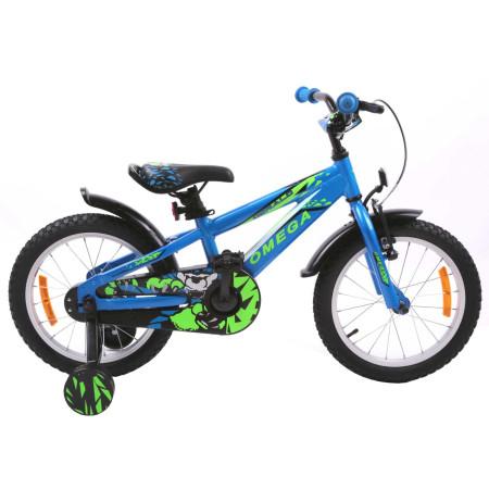 "Bicicleta Omega Gerald 16"" Albastru"