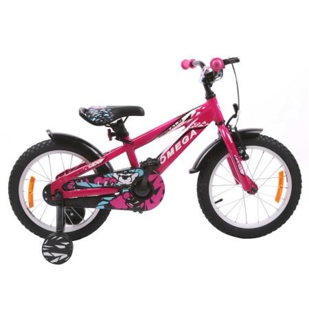 "Bicicleta Omega Gerald 16"" Roz"