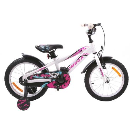 """Bicicleta Omega Gerald 20"""" Alb"""