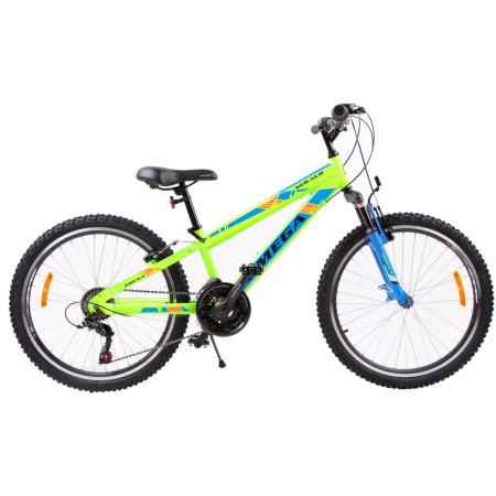 "Bicicleta Mountainbike Copii Omega Gerald 24"" Verde"