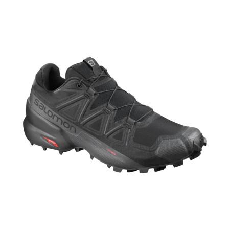 Pantofi Alergare Barbati Salomon  Speedcross 5 Wide Black/Bk/Phantom
