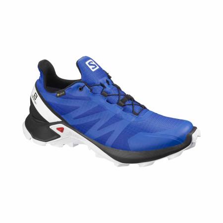 Pantofi Alergare Barbati Salomon  Supercross Gtx Lapis Blue/Black/Wh