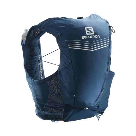 Rucsac Hidratare Alergare Unisex Salomon Adv Skin 12 Set Poseidon/Night Sky