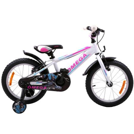 "Bicicleta Omega Master 16"" Alb"