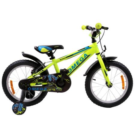 "Bicicleta Omega Master 16"" Galben"