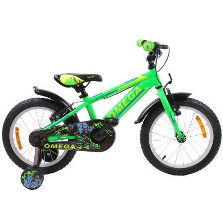 "Bicicleta Omega Master 16"" Verde"
