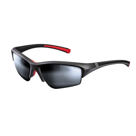 SALOMON BROAD PEAK POLARIZED Mat Bk/Sol Sil