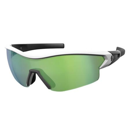 Ochelari Ciclism Scott Leap Alb / Verde