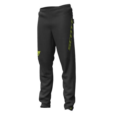 Pantaloni Barbati Alergare Scott RC RUN Waterproof Negru / Galben