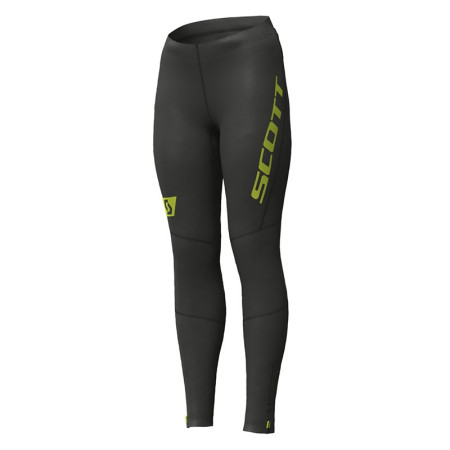 Pantaloni Femei Alergare Scott RC Run 1 Negru / Galben