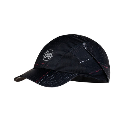 SAPCA ALERGARE BUFF PRO RUN CAP R-LITHE BLACK UNISEX