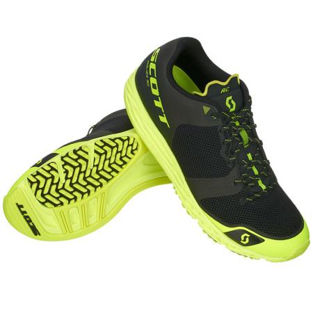 Pantofi Alergare Barbati Scott Palani RC Negru / Galben
