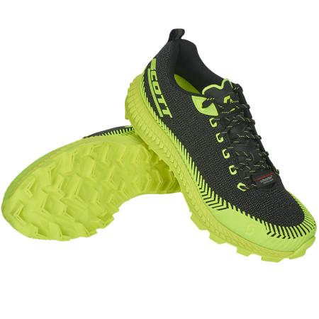 Pantofi Alergare Femei Trail Scott Supertrac Ultra RC Negru / Galben
