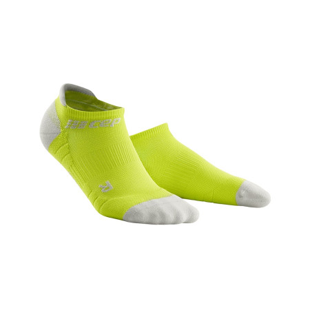Sosete Alergare Femei Cep No Show 3.0 Socks Lime Light Grey