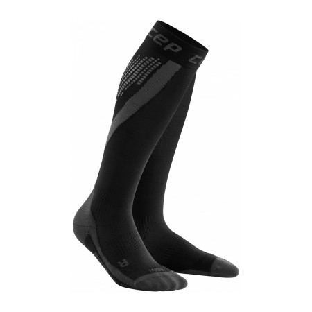 Sosete Compresie Alergare Barbati Cep Nighttech Socks Black