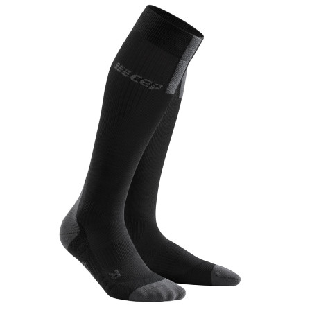 Sosete Compresie Alergare Barbati Cep Run Socks 3.0 Black Dark Grey