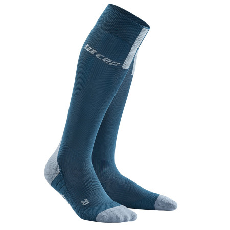 Sosete Compresie Alergare Barbati Cep Run Socks 3.0 Blue Grey