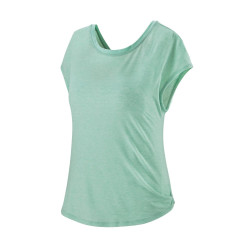 Tricou Alergare Femei Patagonia Glorya Twist Top Gypsum Green