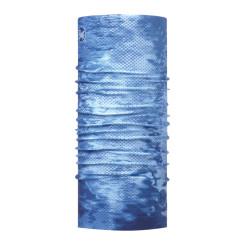 BANDANA MULTIFUNCTIONALA BUFF COOLNET UV+ PELAGIC CAMO BLUE UNISEX