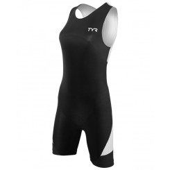 Costum Triatlon Femei Tyr Carbon Back Zip Trisuit Black