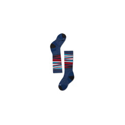Sosete Ski Copii Smartwool Wintersport Stripe Alpine Blue