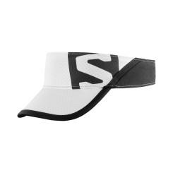 Vizor Alergare Salomon XA VISOR White/Black OSFA