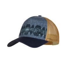 SAPCA SPORT BUFF TRUCKER CAP TZOM STONE BLUE UNISEX SAPCA SPORT BUFF TRUCKER CAP TZOM STONE BLUE UNISEX