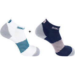 Sosete Alergare Salomon Speed 2 Pack Unisex Sosete Alergare Salomon Speed 2 Pack Unisex