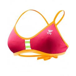 Sutien Baie Tyr Solid Pacific Tieback Top Pink/Orange
