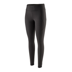 Colanti Alergare Femei Patagonia Centered Tights Black Colanti Alergare Femei Patagonia Centered Tights Black